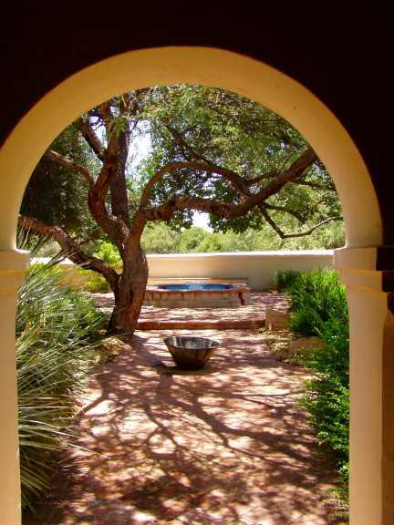 Tumacacori-Garden